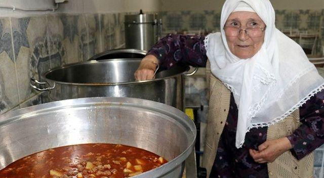 Bu köyde tek iftar sofrası kuruluyor