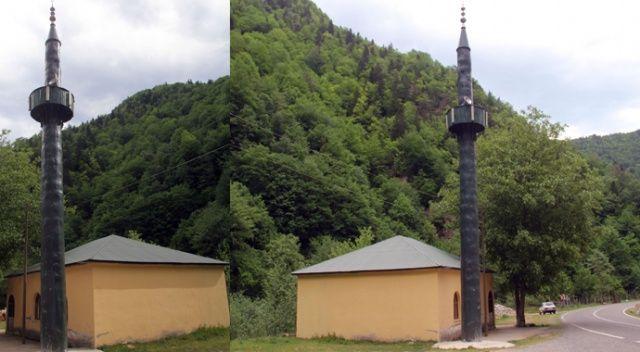 Cemaatin minare yapmaya parası yetmeyince...