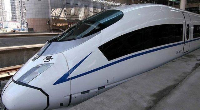 Çin 600 kilometre hızla giden tren yapacak