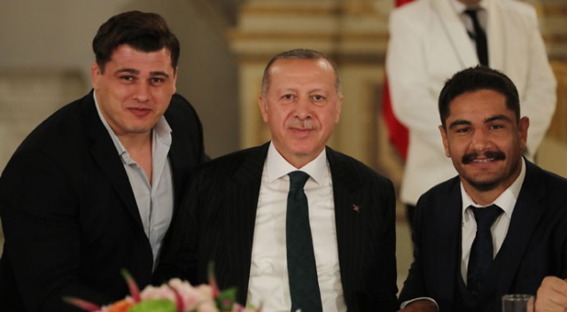 Cumhurbaşkanı Erdoğan ile Taha Akgül arasında esprili diyalog