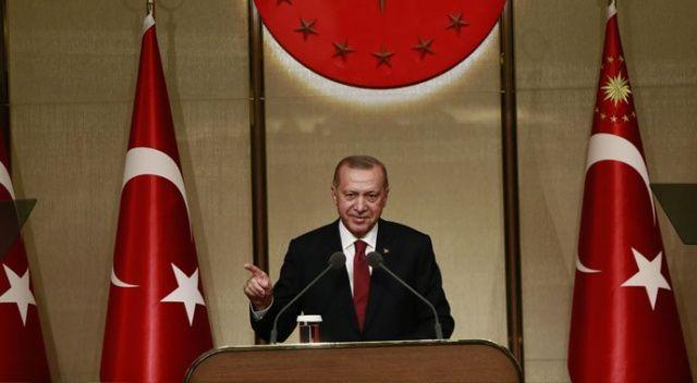 Cumhurbaşkanı Erdoğan: Mağduriyet yok hırsızlık var!