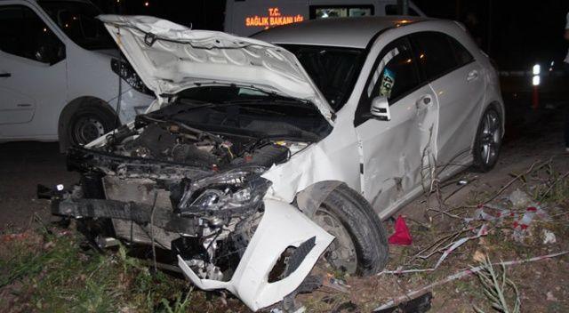 Elazığ'da otomobiller çarpıştı: 7 yaralı
