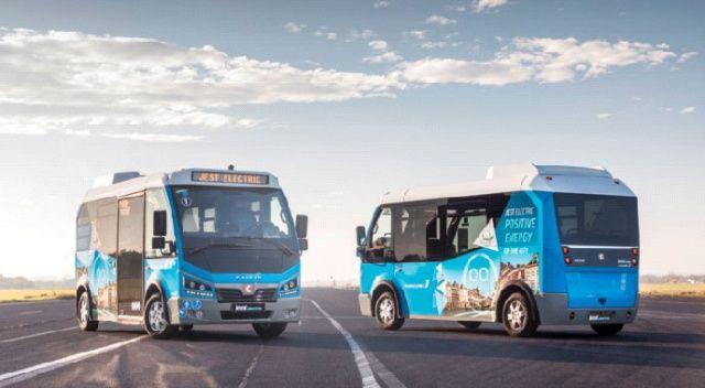Elektrik motorlu yerli minibüslerimiz Avrupa yollarına çıktı