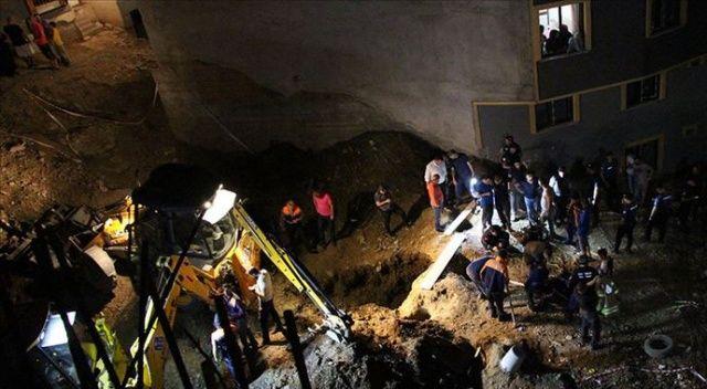 Eyüpsultan'da inşaat çukuruna düşen çocuğun ölümüyle ilgili bir kişi gözaltında