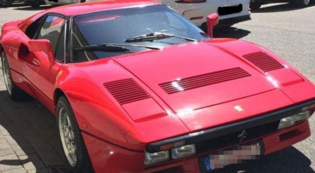 Ferrari'nin nostaljik arabası test sürüşü sırasında çalındı