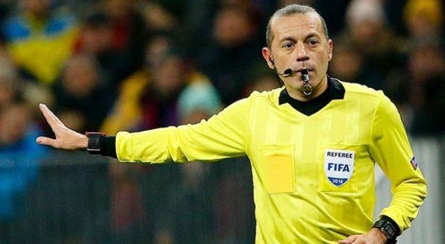 Galatasaray-Medipol Başakşehir maçını Cüneyt Çakır yönetecek