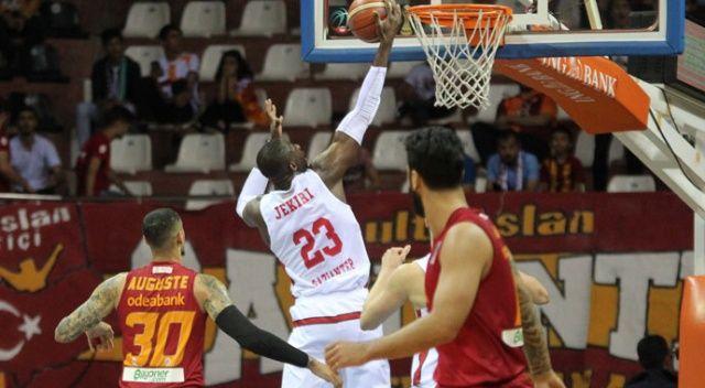 Gaziantep Basketbol, Galatasaray'a şans tanımadı