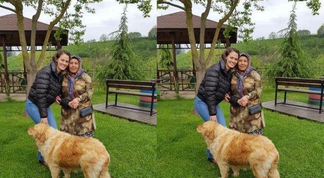 Gülper Özdemir'den anneler günü ziyareti