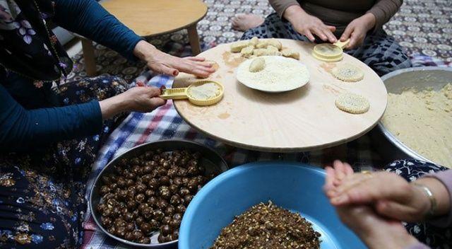 Hatay'ın ramazan kurabiyesi 'kömbe'