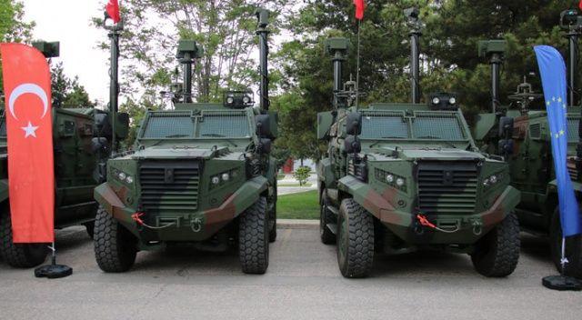 Hızır zırhlı araçları Milli Savunma Bakanlığına teslim edildi