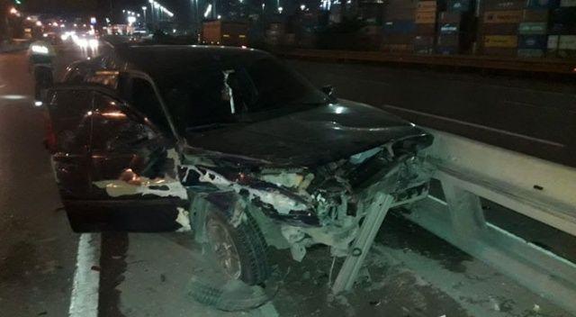 Kocaeli'de 3 araç birbirine girdi: 5 yaralı