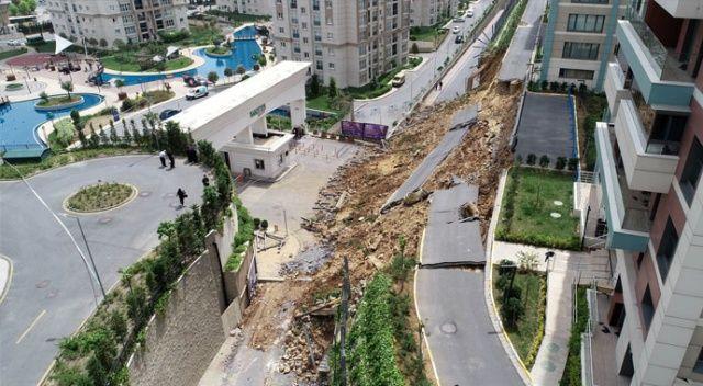 Milyonluk siteye gecekondu duvarı
