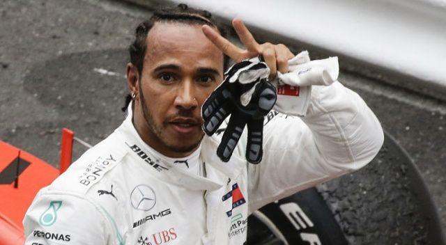 Monaco'da kazanan Lewis Hamilton