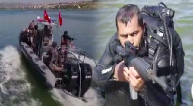 Özel Harekat'ın balık adamlı tatbikatı nefes kesti