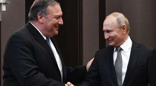 Putin ile Pompeo arasında kritik görüşme