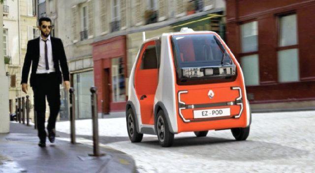Renault, hızlı ulaşım ve kurye hizmetine yönelik otonom araç geliştirdi