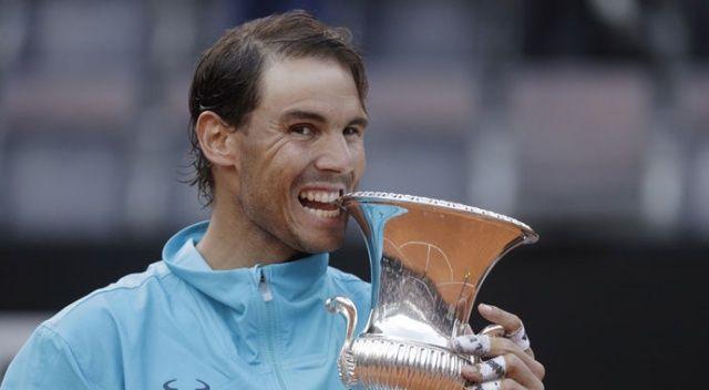 Roma Açık'ta şampiyon Rafael Nadal