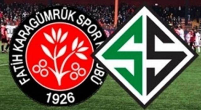 Sakarya - Fatih Karagümrük maçı Bursa Büyükşehir Belediye Stadyumu'nda oynanacak