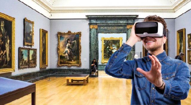 Sanal gerçek müzeler farklı!