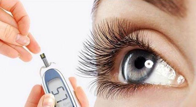 Şeker hastalığı gözlerde önemli hasarlara yol açıyor