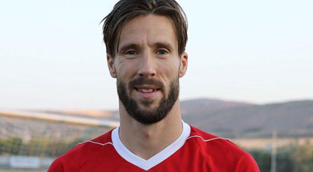 Sivasspor'da Bjarsmyr takıma veda etti