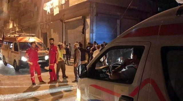 Suriye'de 4'ü çocuk 9 Filistinli hayatını kaybetti