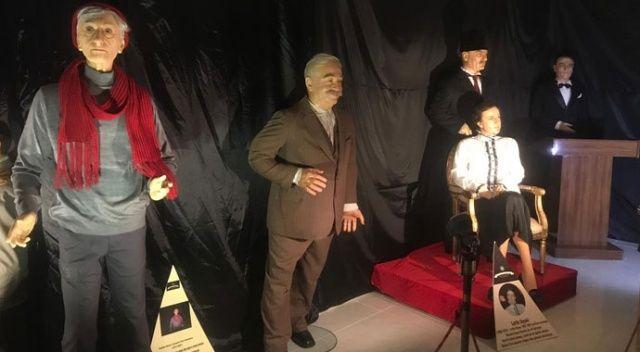 Türkiye Balmumu Heykel Müzesi'nde sergilenen heykeller Kayseri'de