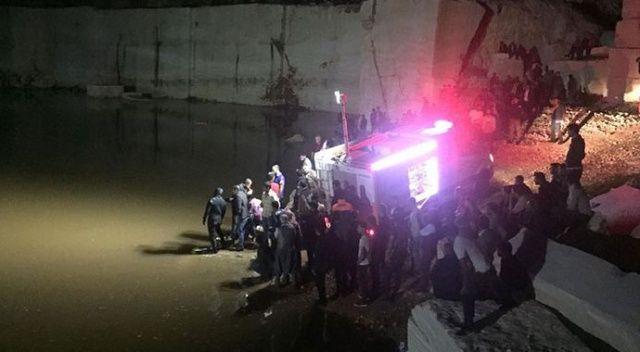 Yağmur suyuyla oluşan gölete giren 2 çocuk boğuldu