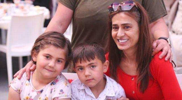 Yıldız Tilbe'den yetim çocuklara iftar sürprizi
