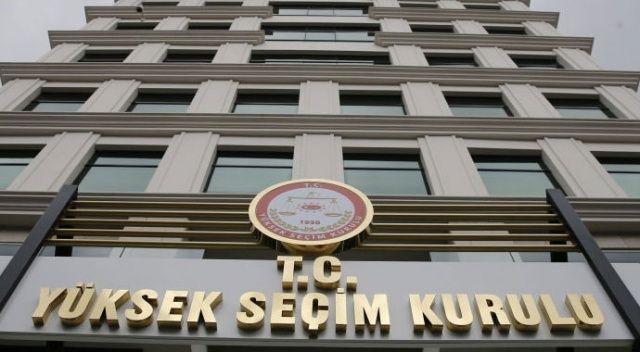 YSK'dan CHP ve İYİ Parti'ye ret