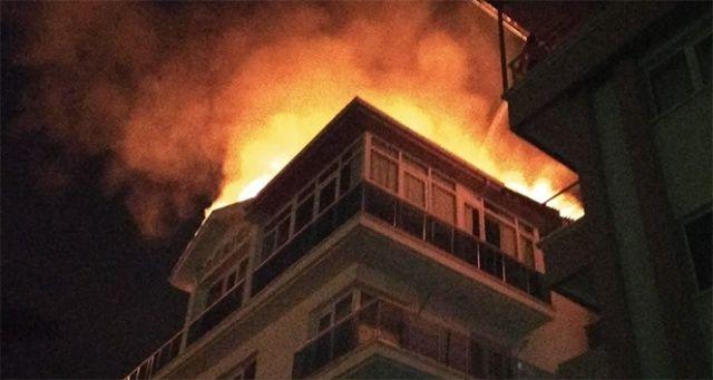 Yüksek yapılarda yangın güvenliği