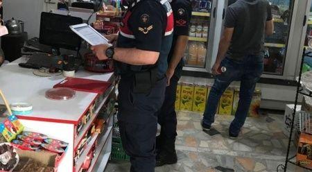 Cezaevi firarisi jandarmanın kaçak alkol uygulamasında yakalandı