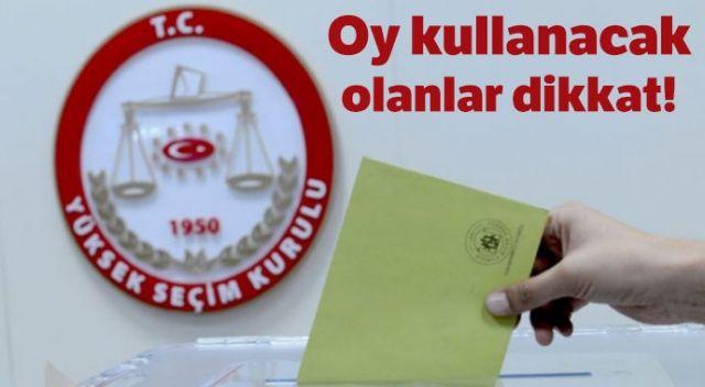 23 Haziran oy kullanma saat kaçta başlıyor, bitiyor? 23 Haziran seçiminde oy kullanma saatleri