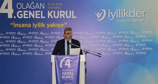 Ahmet Turan Koçer, İyilik Derneği Genel Başkanı seçildi