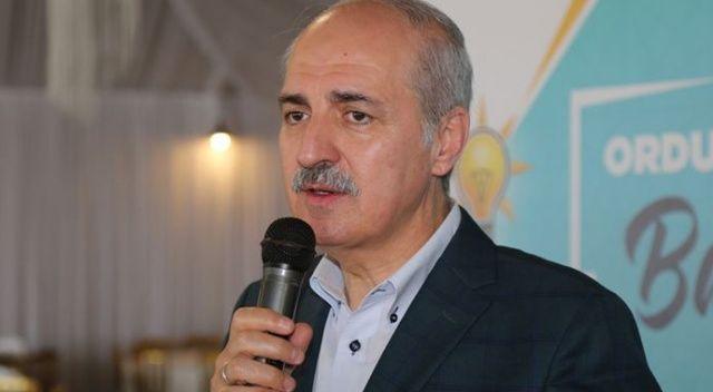 AK Parti Genel Başkanvekili Numan Kurtulmuş: Valimize hakaretten dolayı özür dilesin