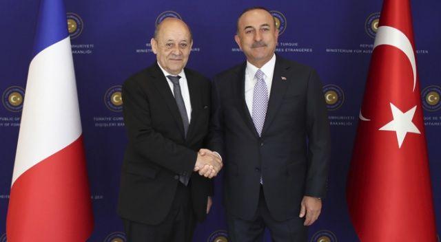 Bakan Çavuşoğlu: 'Fransa'nın YPG ile yakın iş birliğini doğru bulmuyoruz'