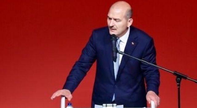 """Bakan Soylu: """"Avrupa, günün birinde PKK'ya bir şeyler yapmaya kalkışırsa, uyuşturucu yüzünden yapacaktır"""""""
