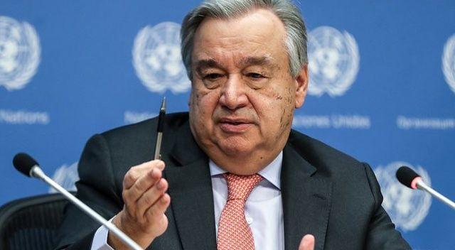 BM Genel Sekreteri Guterres: Ara buluculuk, siyasi çabalar olmadan hiçbir işe yaramaz