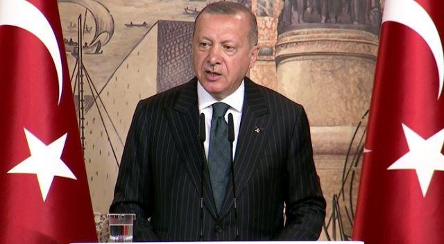 Cumhurbaşkanı Erdoğan yabancı basın mensupları ile buluştu