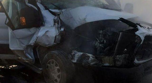 Diyarbakır'da trafik kazası: 4 yaralı