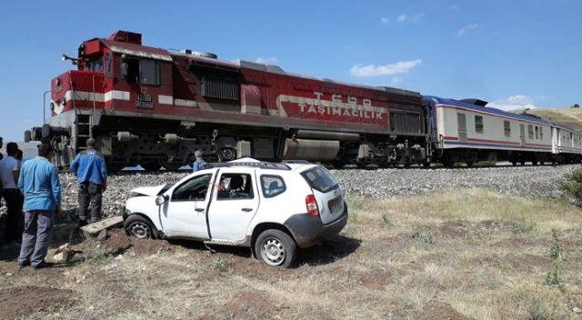 Elazığ'da tren kazası: 1 ölü, 2 yaralı