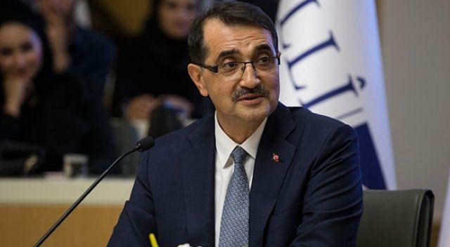 """Enerji Bakanı Dönmez: """"Doğu Akdeniz'de faaliyetlerimiz hiçbir aksamaya mahal vermeden devam ediyor"""""""