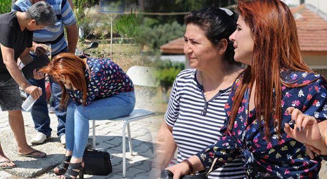 Genç kadın sinir krizi geçirdi... Bir an olsun yanından ayrılmadı