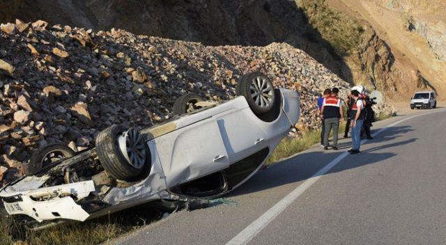 Gümüşhane'de 2 ayrı trafik kazası: 4 yaralı