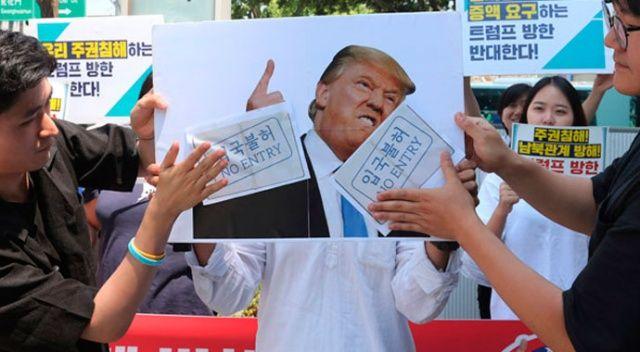Güney Kore'de ABD Büyükelçiliği'ne saldırı