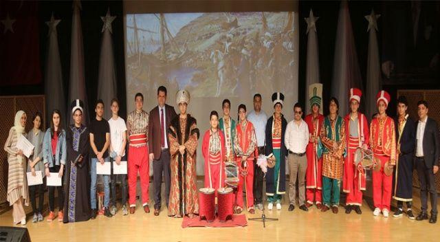 İhlas Koleji'nde İstanbul'un  fethi kutlandı