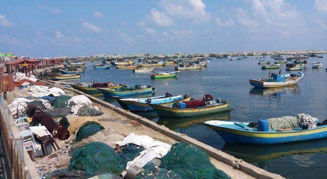 İsrail Gazze sahillerini Filistinli balıkçılara yasakladı