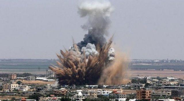 İsrail Gazze'yi vurdu!