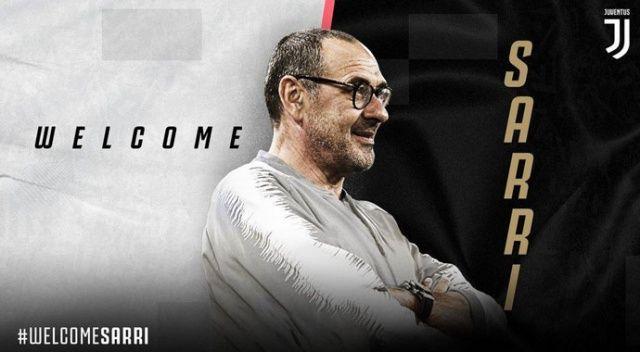 Juventus'un yeni hocası Sarri oldu
