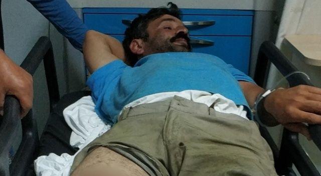 Kardeşinin silahlı saldırısında yaralandı